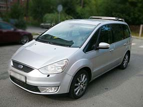 Фото FORD GALAXY gray