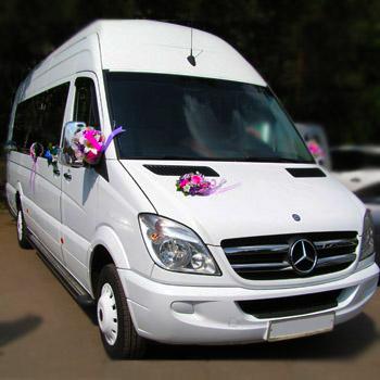 Микроавтобусы - прокат авто на свадьбу